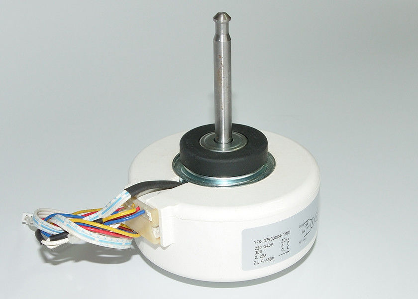Single Shaft Mounting Resin Motor 2μF 450V Capacitance For Air Refresher